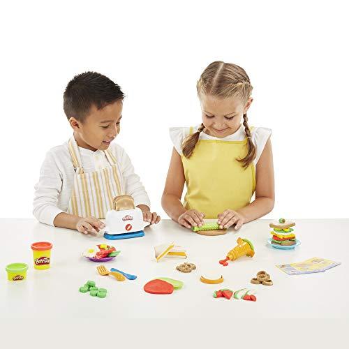 Play-Doh- La Tostadora (Hasbro E0039EU4)