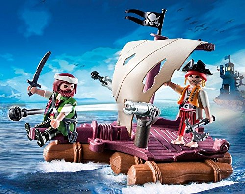 PLAYMOBIL - Balsa Pirata (66820)