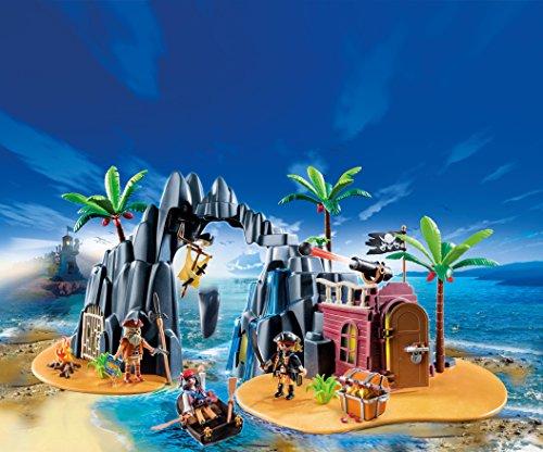 PLAYMOBIL - Isla del Tesoro Pirata (66790)