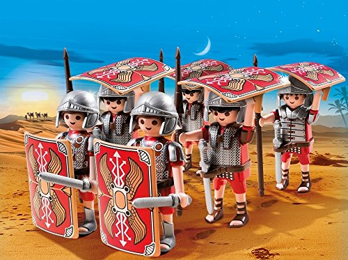 Playmobil Romanos y Egipcios - Legionarios, Playset de Figuras de Juguete, Multicolor (Playmobil, 5393)