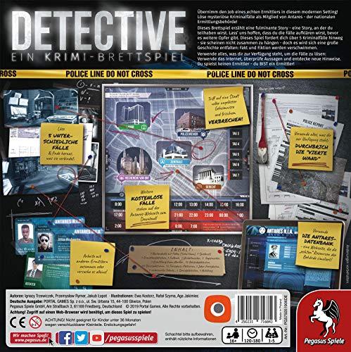Portal Games 57505Detective, Juego de Mesa , color/modelo surtido