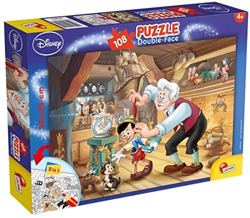 Puzzle dwustronne plus Pinokio 108