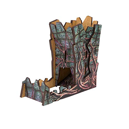 Q Workshop Call of Cthulhu Dice Tower for Rolling Dice