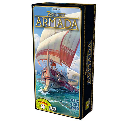Repos Production- 7 Wonders: Armada (Asmodee ADERP7WEX09)