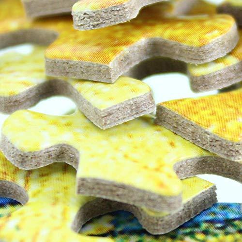 Rompecabezas de 1000 piezas Juguetes de rompecabezas -Galopar caballo blanco- Montaje de madera Decoración para el juego de juguetes para el hogar