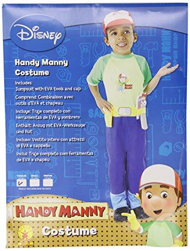 Rubies`s - Disfraz infantil de Handy Manny clásico (884125-T)