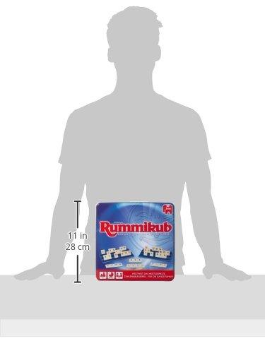 Rummikub Original Niños y Adultos Juego de táctica - Juego de Tablero (Juego de táctica, Niños y Adultos, 20 min, 7 año(s), Alemán, Interior)