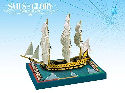 Sails of Glory: Alfombrillas adicionales ARESGN112A Juan Nepomuceno 1766 / San Francisco de Asis 1767: Sails of Glory Ship Pack, Multicolor