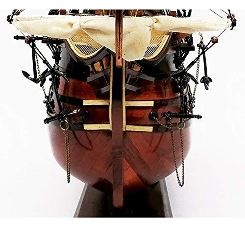 Ship Maqueta del Barco, maqueta de modelismo, Victoria Real 1:72 Modelo de Barco de Vela Color Madera - Flota de Gloria