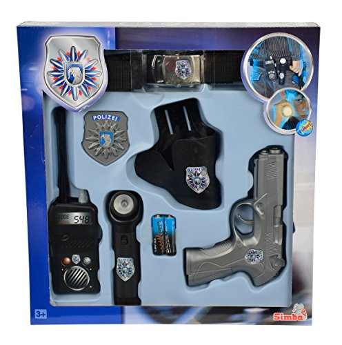 Simba- Set policia, Color gris, XXL (8102667)