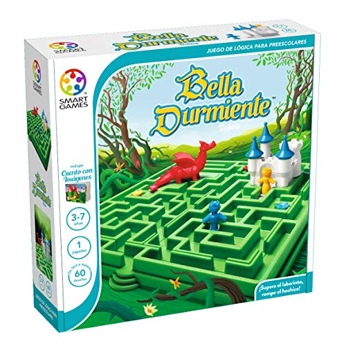 smart games- Bella Durmiente, Color Verde (SmatGames SG025ES)