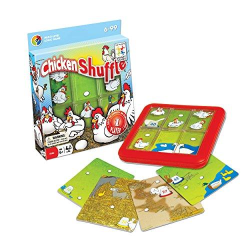 Smart Games Chicken Shuffle - Escondite en la granja, juego de ingenio (SG430)