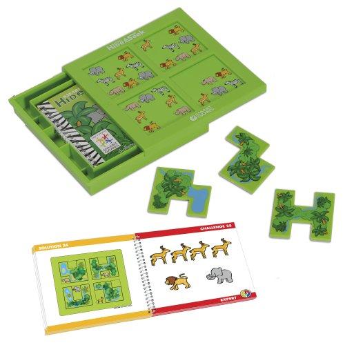 smart games - Escondite en la Selva, Juego de ingenio con retos progresivos (51311)