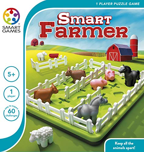 SmartGames Smart Farmer One Player Puzzle Game