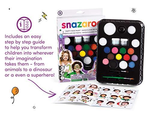 Snazaroo Ultimate Party Pack - Set de Maquillaje de Fiesta