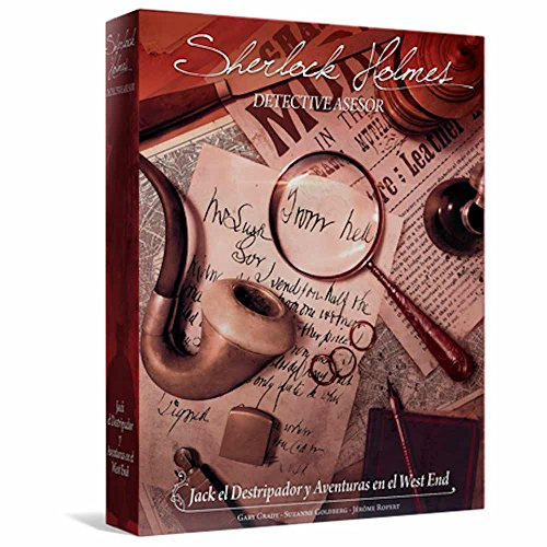 Space Cowboys- Sherlock Holmes: Jack el Destripador (Asmodee EESCSH03)