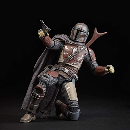 Star Wars - Figura de acción coleccionable de The Mandalorian de Black Series (Hasbro E6959EL2)