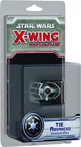 Star Wars - Tie Avanzado, Juego de miniaturas (Edge Entertainment SWX05)