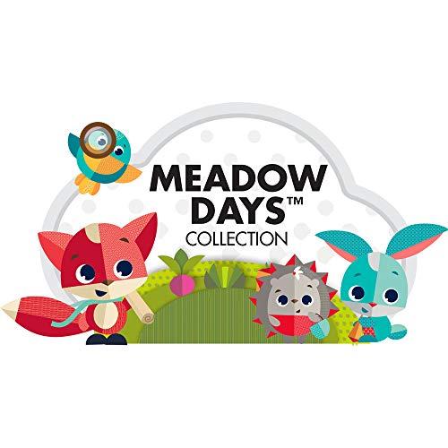 Tiny Love Sunny Stroll Arco de juegos educativo con sonajero y actividades, a partir de 0 meses, Clips de acople universales, Meadow Days