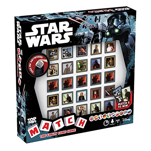 Top Trumps Juego de Mesa de Star Wars, Multicolor (Winning Moves 001533)