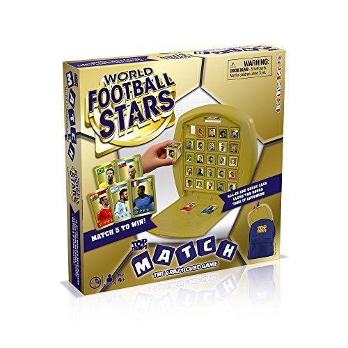 Top Trumps Juego de Tablas de fútbol con diseño de Estrellas de fútbol