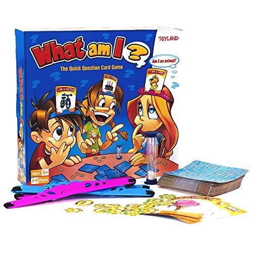 TOYLAND® What Am I Game - Juegos de Mesa Familiares - 2-4 Jugadores