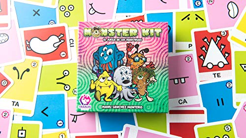 Tranjis Games - Monster Kit - Juego de cartas (TRG-09kit)