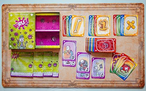 Tranjis Games - Virus! - Juego de cartas (TRG-01vir)