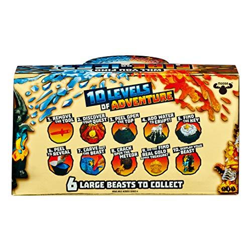 Treasure X Beast Sigle Pack. Fire VS Ice 6 nuevas Dino Bestias coleccionables (FAMOSA 700015741) , color/modelo surtido