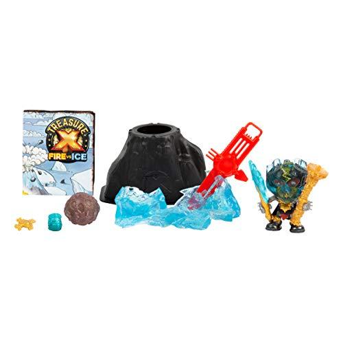 Treasure X- Dino Hunter Pack. Fire VS Ice, Set Figuras de Caza Tesoros, niñas a Partir de 5 años (FAMOSA 700015740) , color/modelo surtido