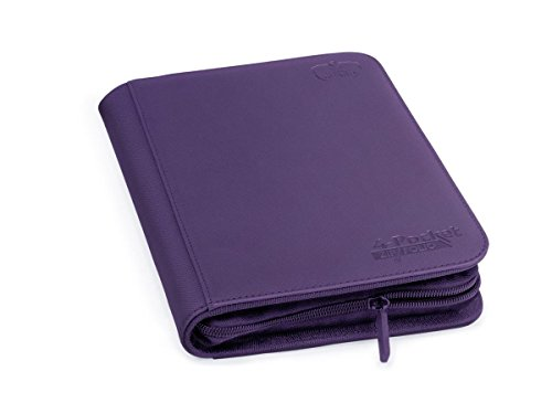 Ultimate Guard 4-Pocket ZipFolio XenoSkin Violeta