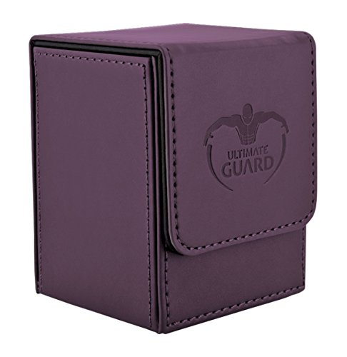 Ultimate Guard Flip Deck Case 100+ Caja de Cartas Tamaño Estándar Violeta