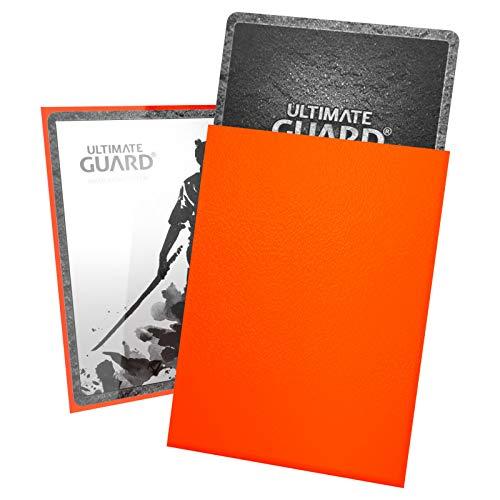 Ultimate Guard UGD010898 - Fundas para Tarjetas, Color Naranja