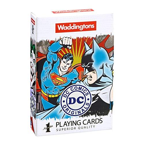 Waddingtons - Juego de Cartas DC Comics (Winning Moves 13780)
