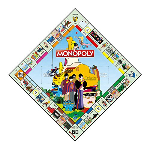 Winning Moves Beatles (The) Yellow Submarine - Monopoly Board Game Merchandising