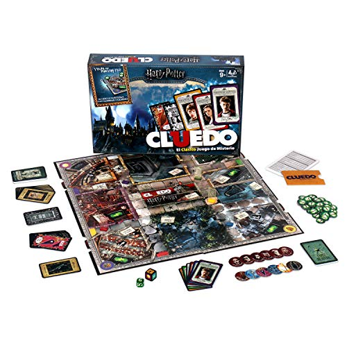 Winning Moves Cluedo Harry Potter 40X26-+9 Años, multicolor, Sin tañosllaños (ELEVEN FORCE 82288)