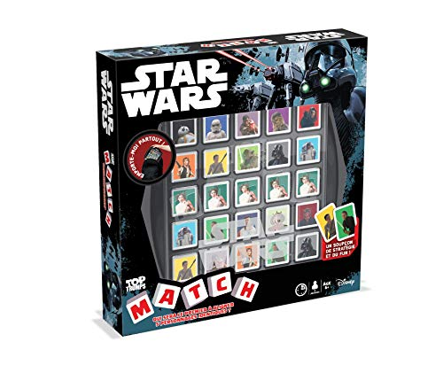 Winning Moves Match - Juego diseño de Star Wars