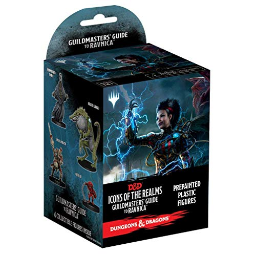 WizKids Dungeons & Dragons Fantasy Miniatures: Icons of The Realms Set 10 Guildmasters` Guide to Ravnica Booster Brick (1 Box)
