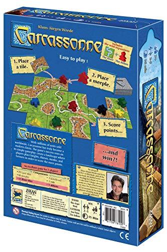Z-Man Games Juego de Mesa Carcassonne (Idioma español no garantizado)