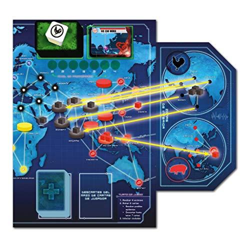 Z-Man Games- Pandemic Estado de Emergencia - Juego de Mesa, Color (ZM7113ES)