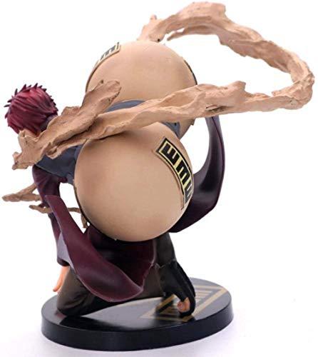 ZJZNB Naruto: Shippūden El Reino del Viento Gaara Cinco Generaciones de Viento y Sombra Estatua Animación Personaje Modelo Decoración Anime Personaje de colección Juguetes