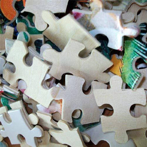 ZYQZYQ Puzzle Rompecabezas de Madera 1000 Piezas The Walk Dead Painting Assembly Game Juguete de descompresión Educativo para niños Adolescentes