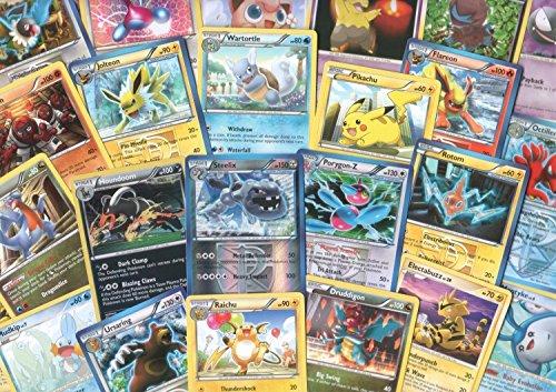 100 Assorted Pokemon Cards with Foils & Bonus Mew Promo! [Toy]