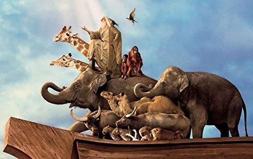 1000 Piezas Adultos Rompecabezas Niñosde Madera Rompecabezas Inteligencia desafí Hogar diversión Juegos de Regalo Ideal Animales a Bordo