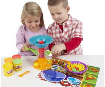 play doh spaghetti factory