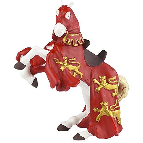 39340 - Caballo de Ricardo Corazón de León, rojo [importado de Alemania]