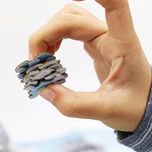 500 Rompecabezas Adultos Niños Niñas Paisaje Forestal A Bordo Juguete Educativo 3D El Animal De Bricolaje El Animal del Paisaje Decoración Moderna para El Hogar Ocio Entretenimiento.Gtfzjb