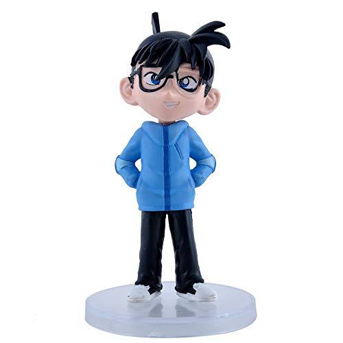 7PCS Detective Conan Figura Acción Modelo Kidd Monopatín Animado Figuras Estatua Regalo De Los Niños 13cm