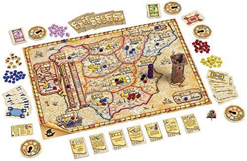 999 Games El Grande Big Box Estrategia - Juego de Tablero (Estrategia, 90 min, Niño/niña, 12 año(s), Holandés, Multicolor)