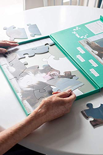 Active Minds Cobertizo para Herramientas Puzle de 13 Piezas diseñado para Personas ancianas con Demencia / Alzheimer's